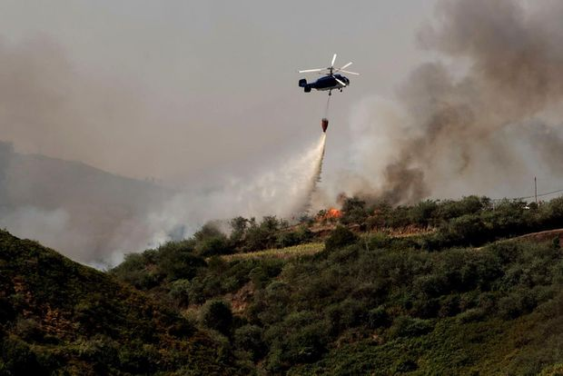 'Monster' wildfire in Spain's Canary Islands forces thousands to evacuate