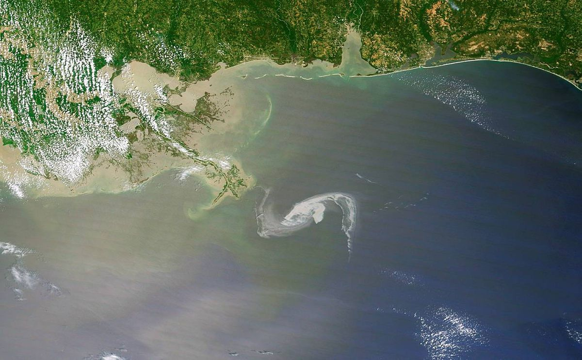 Oil Slick Threatens Louisiana Coast