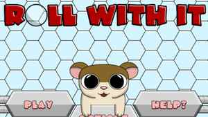 """Jordan Gabrielle's game """"Roll With It"""" follows a hamster named Benny through a number of increasingly different mazes."""