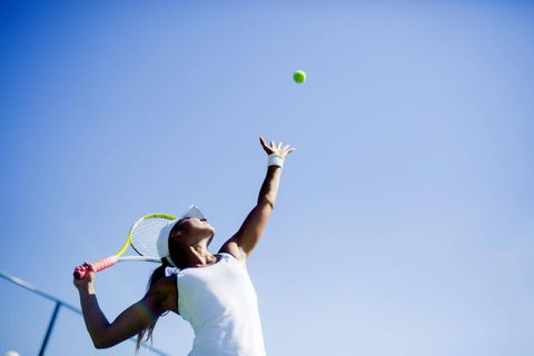 Challenge your body in every direction with tennis
