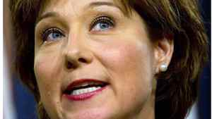 Premier Christy Clark told businessmen that voters will have a choice between a government that looks after their money and respects taxpayers and an NDP government that will do the opposite by increasing the deficit and raising taxes.