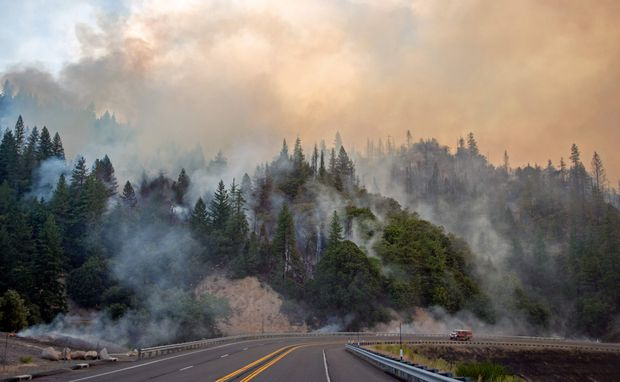 Deadly Northern California wildfire grows by two-thirds overnight