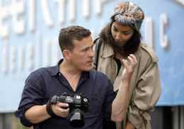 Scott Schuman photographs Much Music personality Sarah Taylor in Toronto on Thursday.