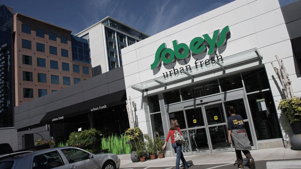A Sobeys store in Toronto.