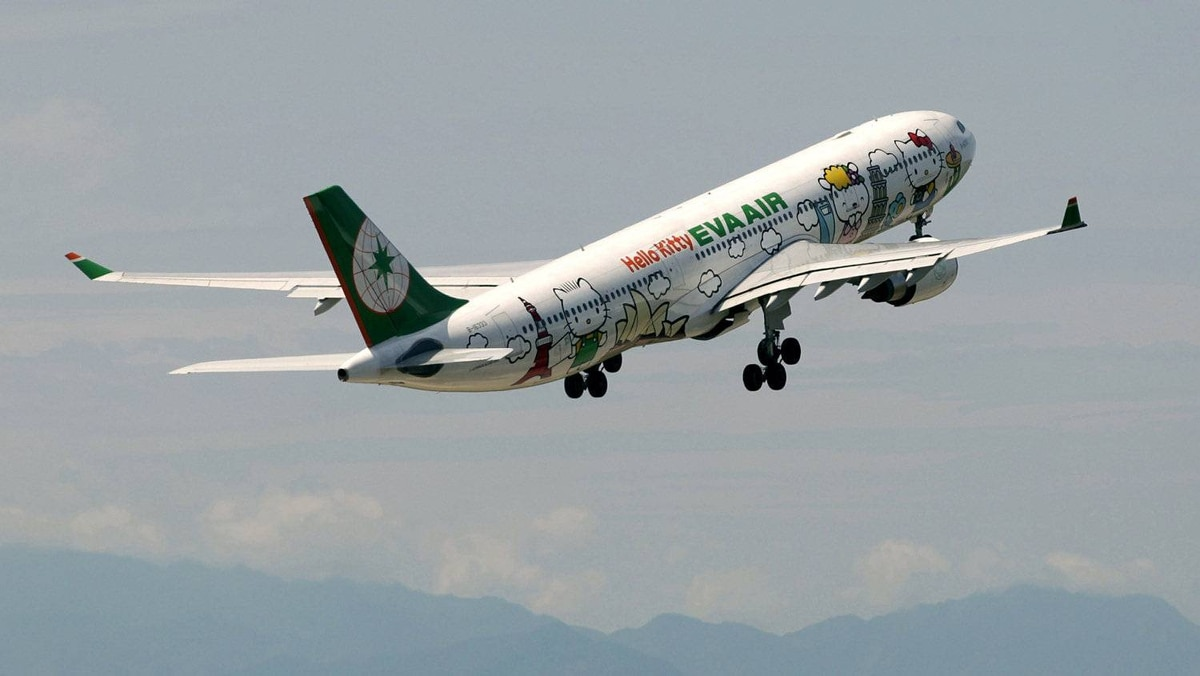So long, Hello Kitty. Have a good flight.