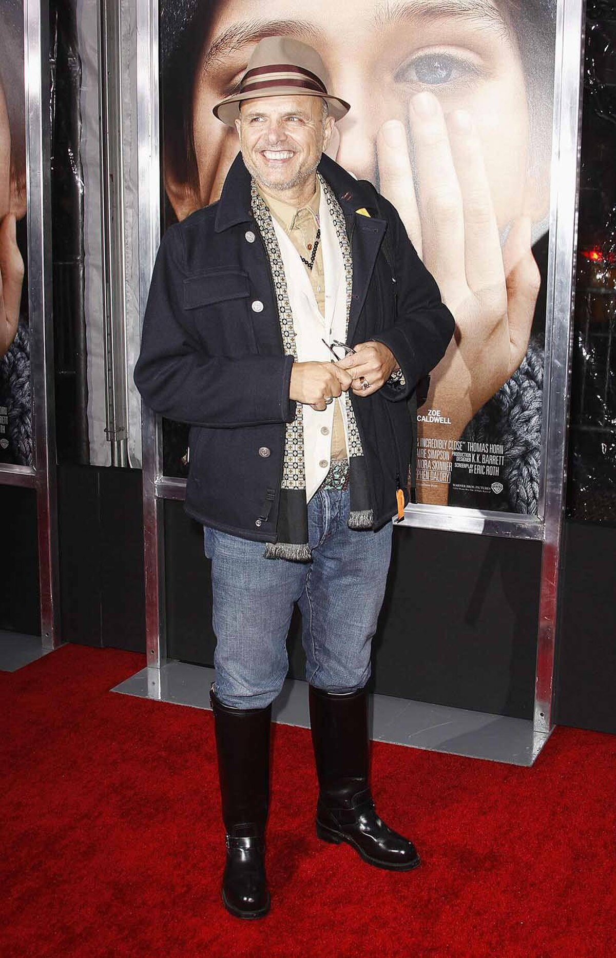 "Judging by his boots and hat, Joe Pantoliano arrived straight from a fishing derby for the premiere of the film ""Extremely Loud and Incredibly Close"" in New York last week."
