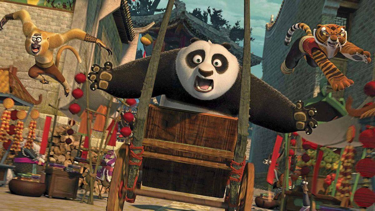 "A scene from ""Kung Fu Panda 2."""