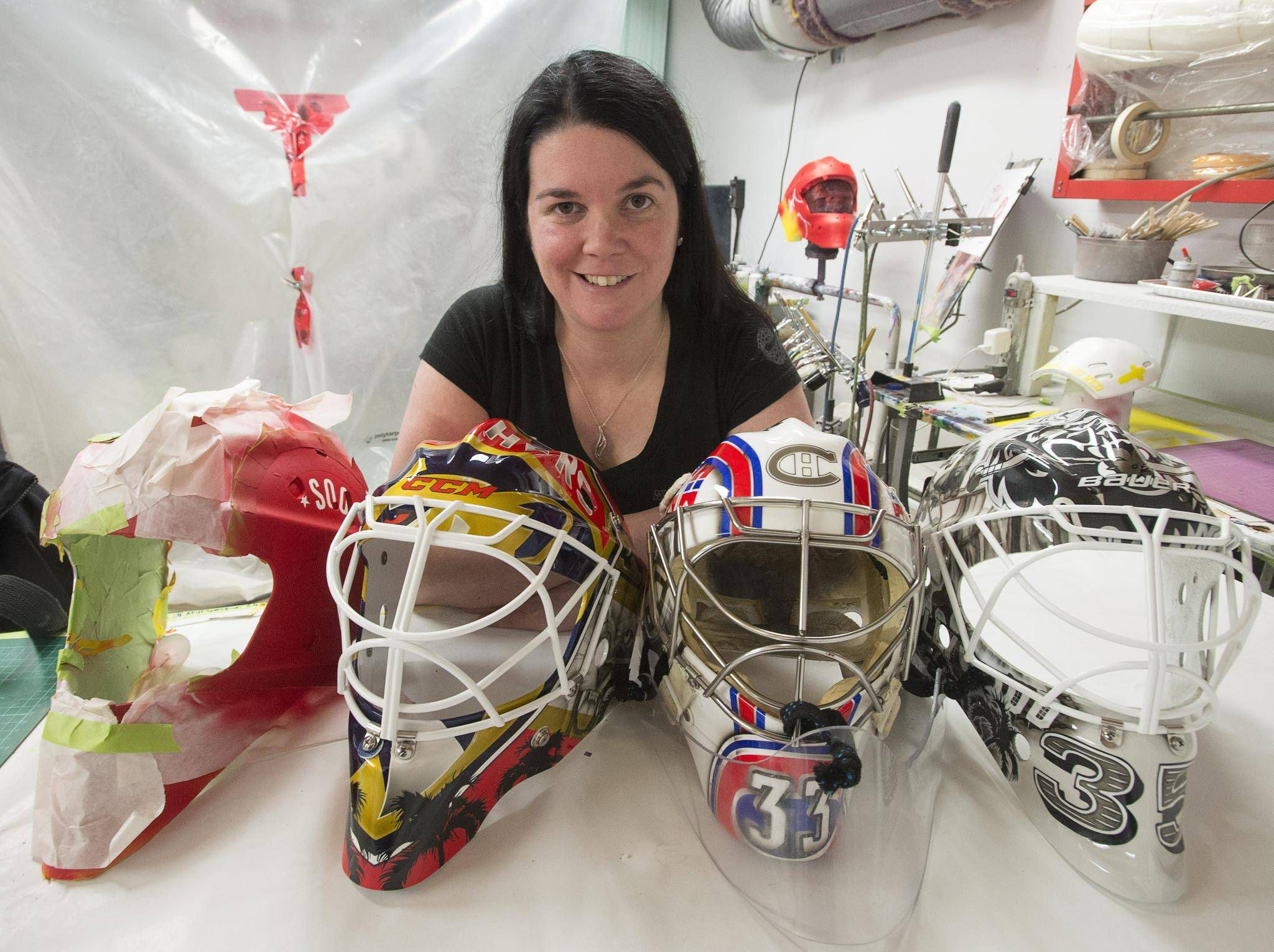 Meet The Canadian Artists Behind The Masks Worn By Nhl Goaltenders