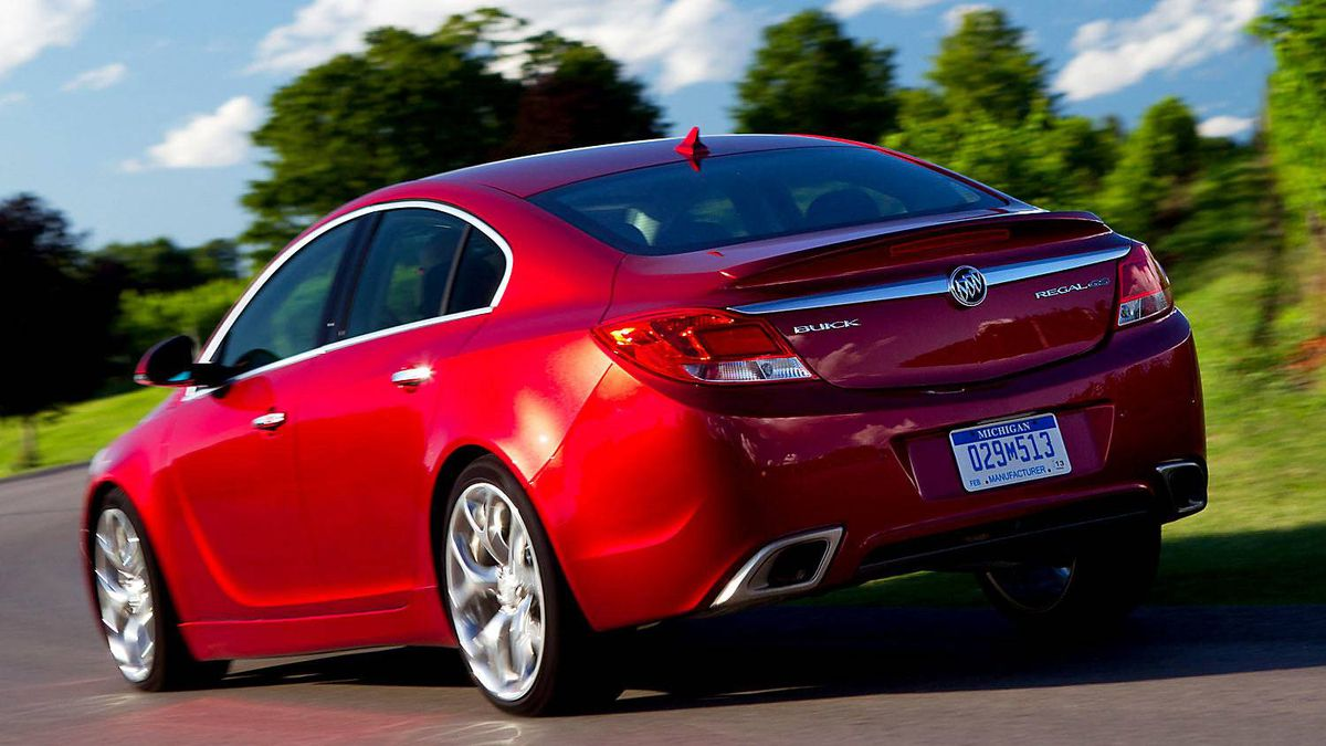 Buick Regal ($31,990 base): Buick is threatening to become a full-blown luxury brand and the Regal helps here. Based on a Opel model designed for Europe, the Regal is handsome and fun to drive.