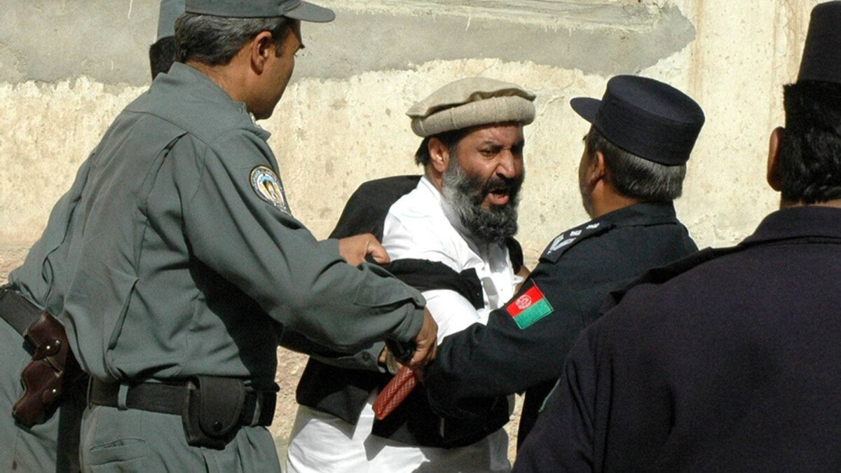 Mir Zaman, brother of Commander Deedar, a jihadi leader who was disqualified from the election, led dozens of the warlord's followers in a charge against a line of police protecting the Electoral Complaints Commission on Wednesday. 2005