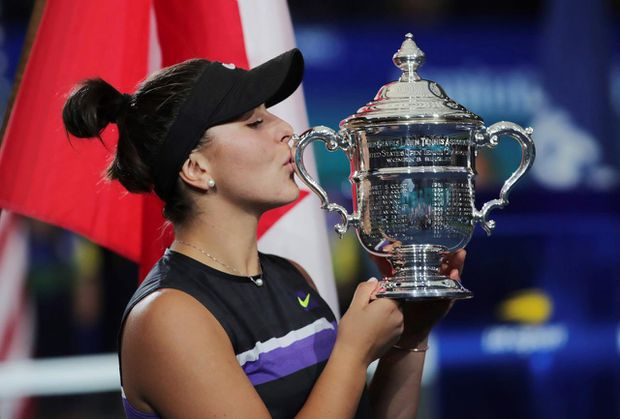 Tennis star Bianca Andreescu chosen as The Canadian Press female athlete of the year