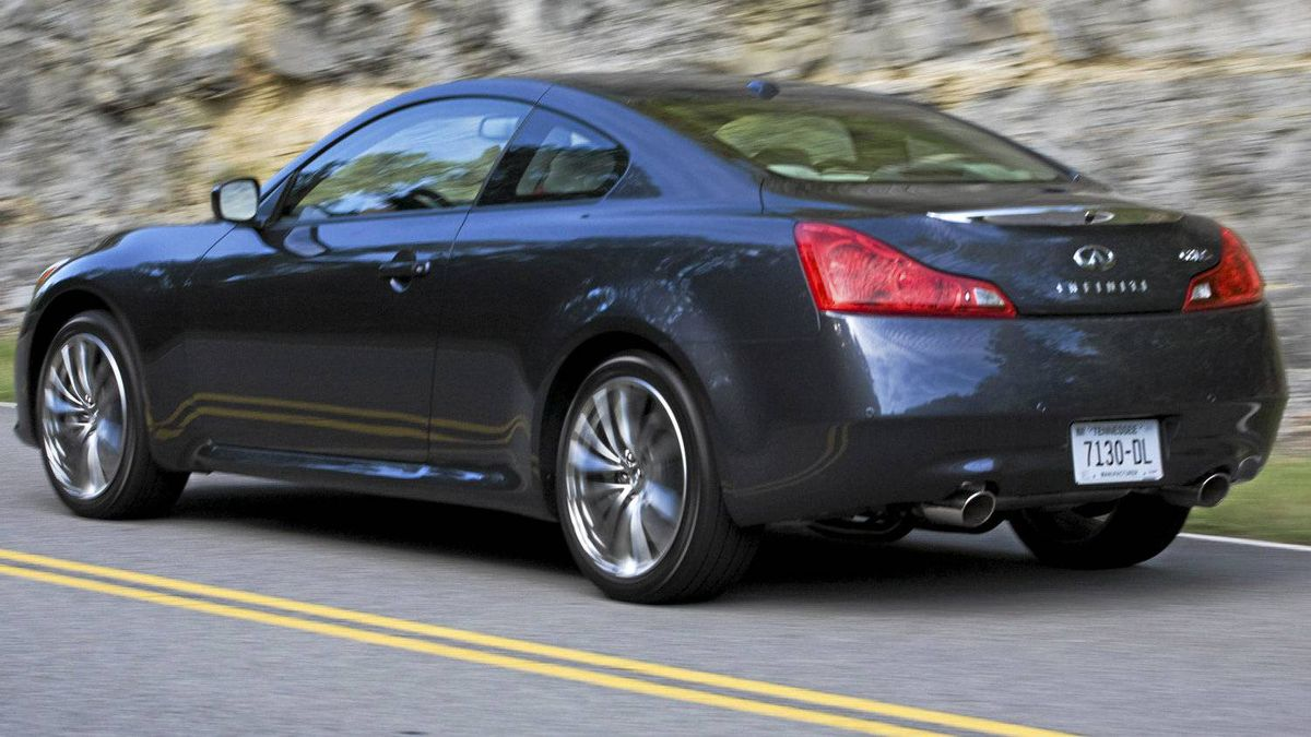The Infiniti G37 Coupe An Endangered Species The Globe And Mail