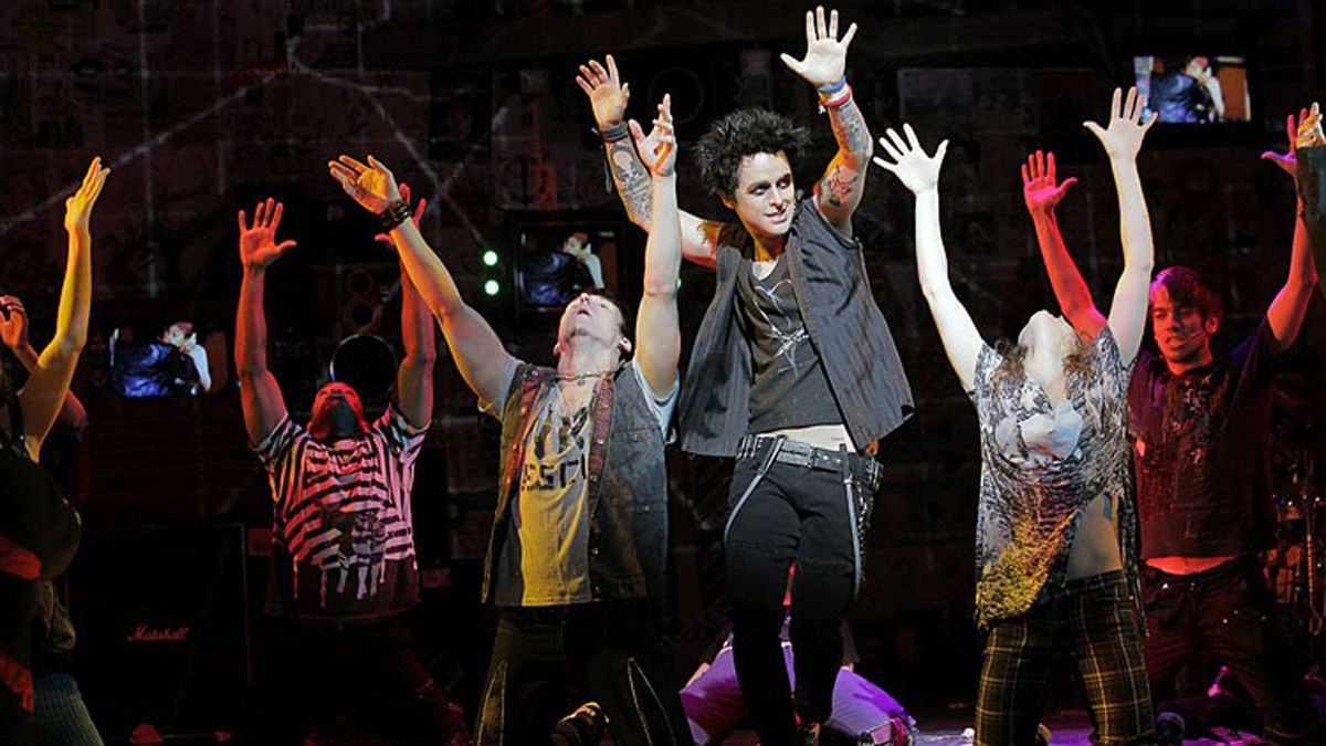 Billie Joe Armstrong as St. Jimmy in American Idiot.