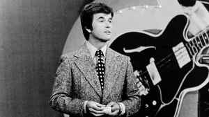 """In this 1973 file photo released by ABC, Dick Clark presents the Rock and Roll Year_ a musical portrait of the 1950s and 1960s on the ABC television network in a series of five specials. Clark, the television host who helped bring rock `n' roll into the mainstream on """"American Bandstand,"""" died Wednesday, April 18, 2012 of a heart attack. He was 82."""