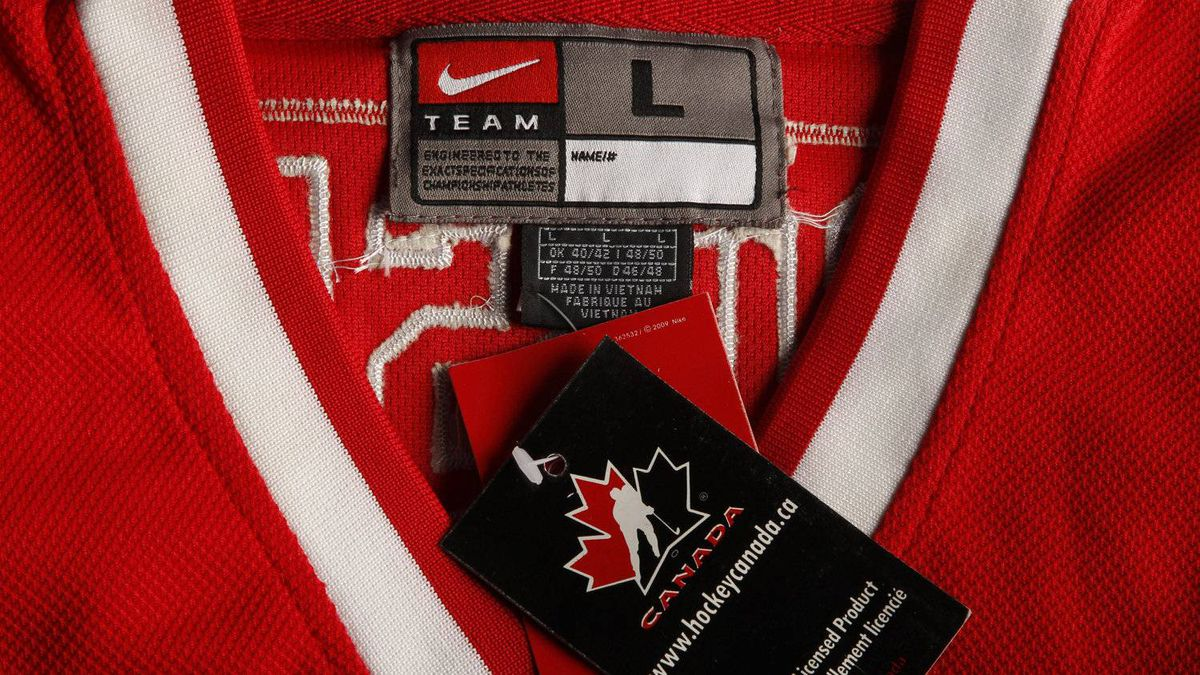4cf9747a3 Counterfeit  One of these jerseys costs  375 and the other costs  30 - The  Globe and Mail