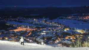 Skiing at Ontario's Blue Mountain is possible for new parents: Especially if one doesn't mind taking the night shift.