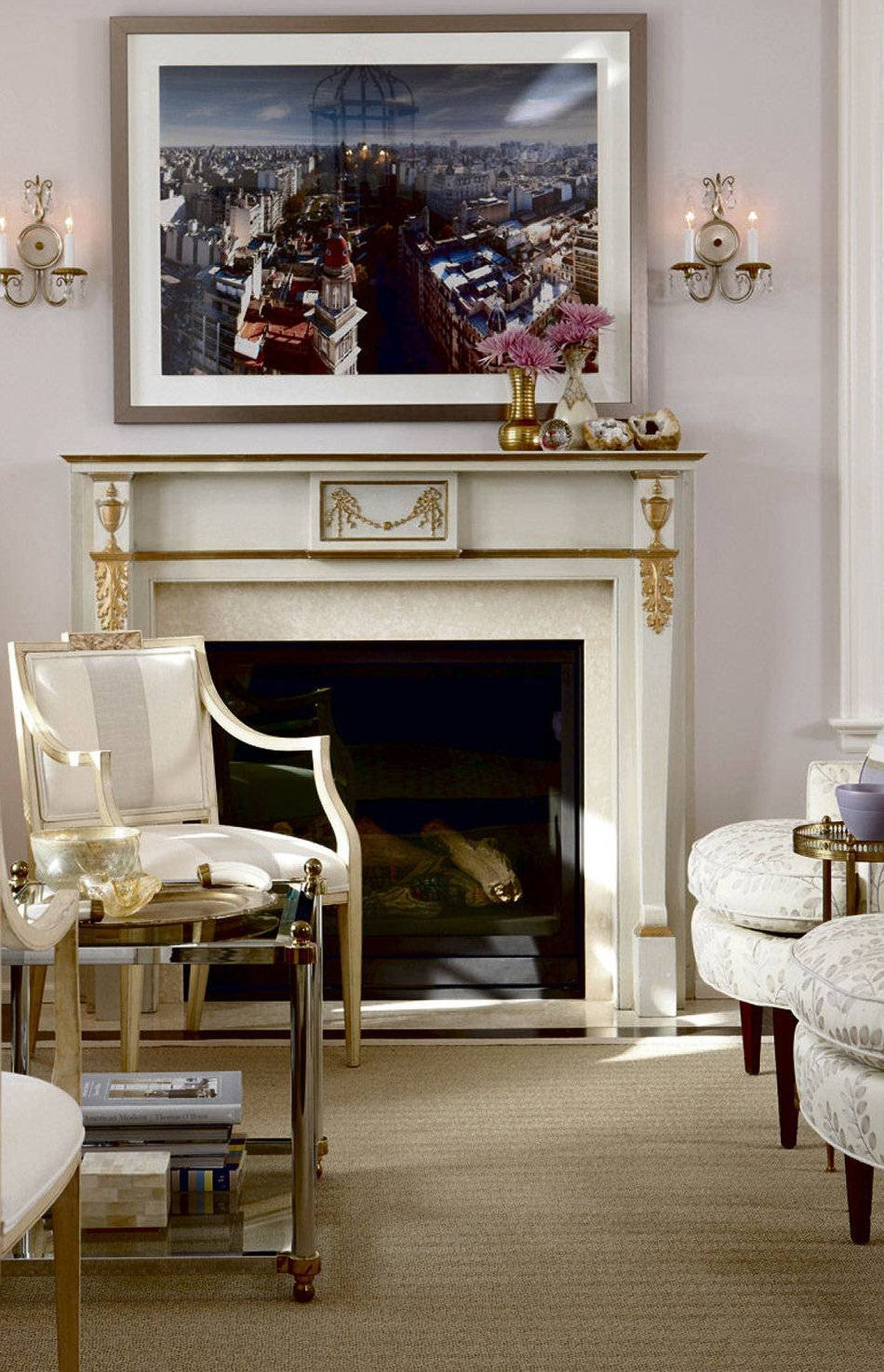 Living Room Feature Wall Decor: How To Create A Luxe Living Room