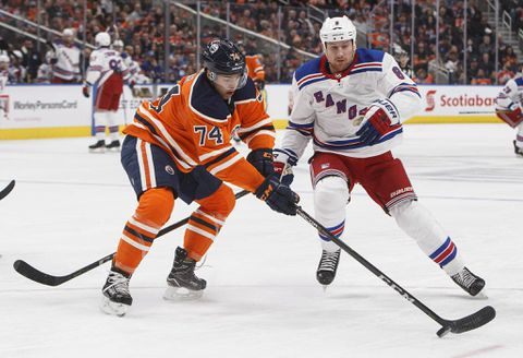 Oilers drop a 3-2 decision to the Rangers