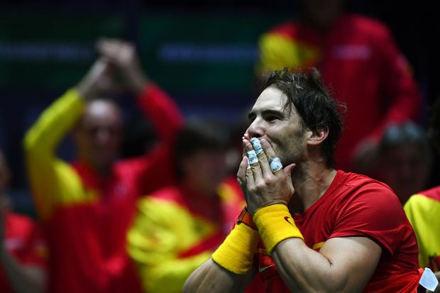Rafael Nadal Beats Canada S Denis Shapovalov To Give Spain Sixth Davis Cup Title The Globe And Mail