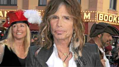 Singer Steven Tyler arrives at the world premiere of Pirates Of The Caribbean: On Stranger Tides at Disneyland on May 7, 2011 in Anaheim, California.