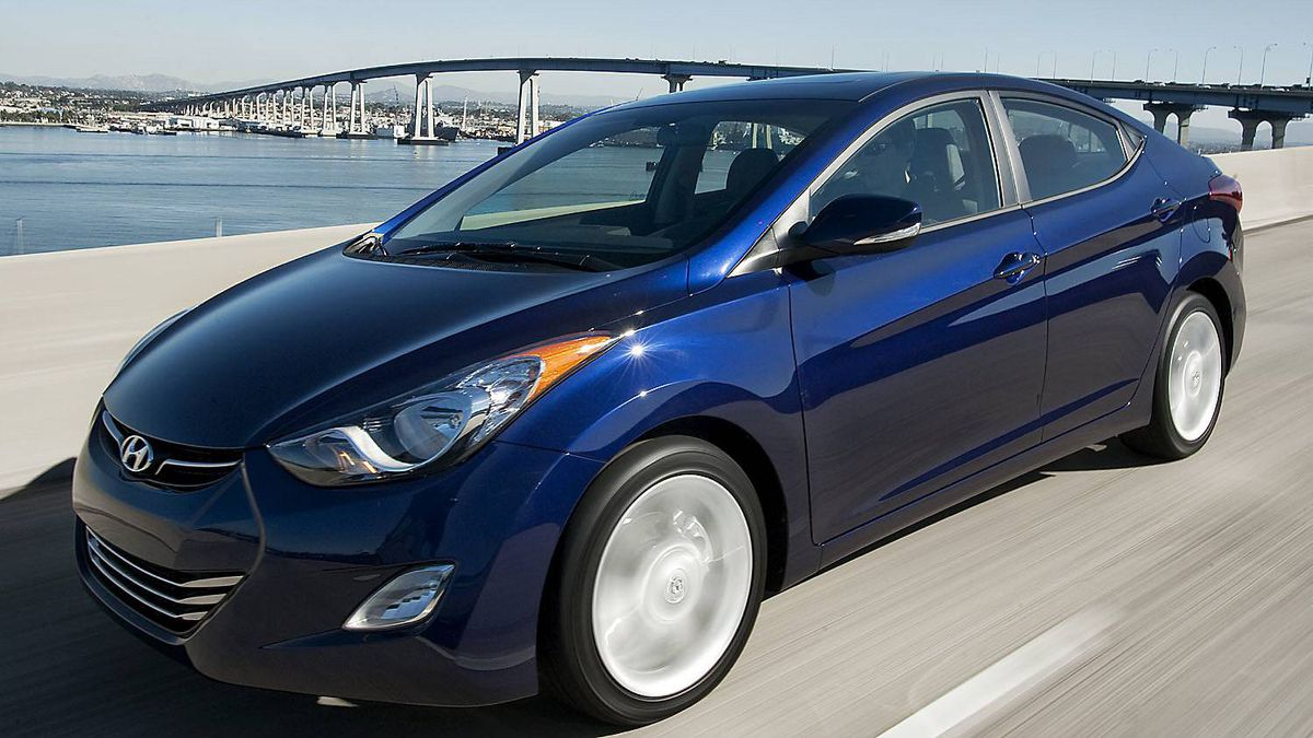 2011 Hyundai Elantra: Completely reinvented for this model year, the Elantra is exceptionally fuel efficient and pretty to look at, too.