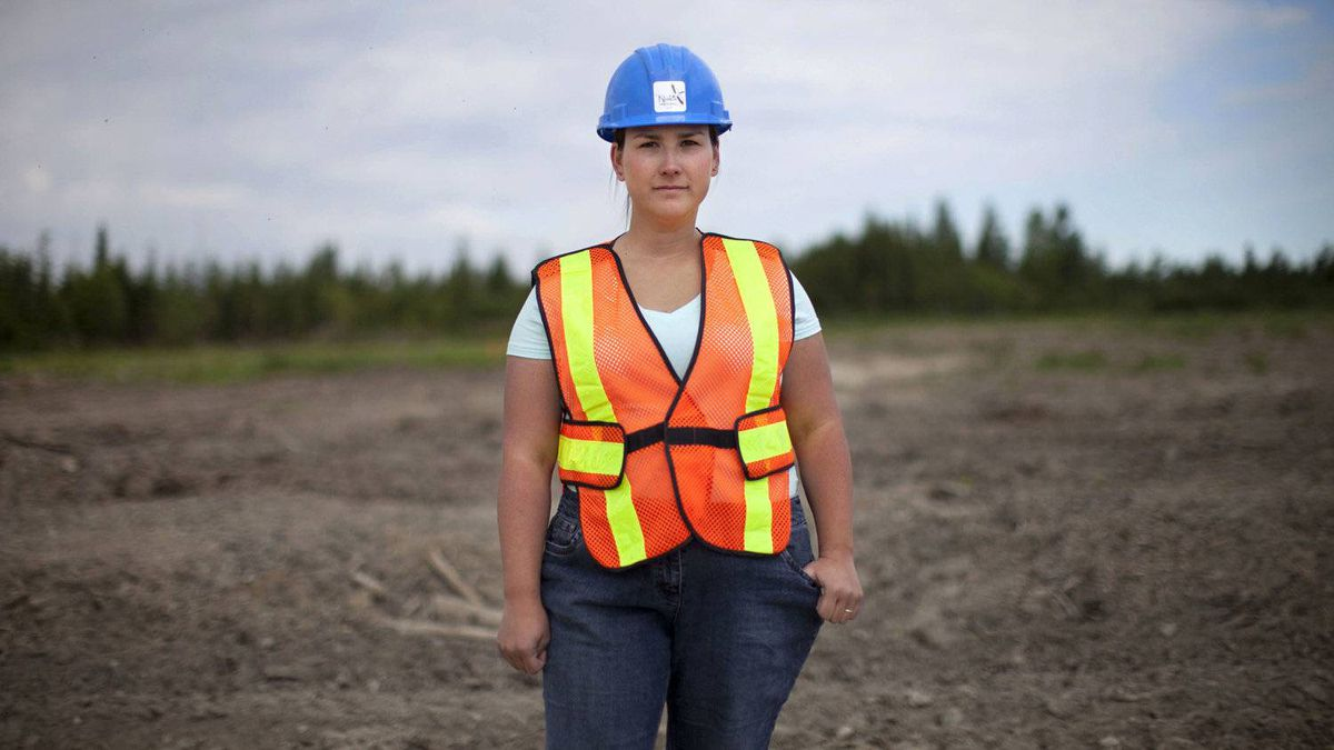 Rosanna Ulvstal applied in October to work at the Detour Lake mine but hasn't received a response from its owner, Detour Gold Corp. She's now driving a rock hauler at a mine in Kapuskasing, where she's renting a room and commuting to Cochrane on her days off to see her husband and daughter.