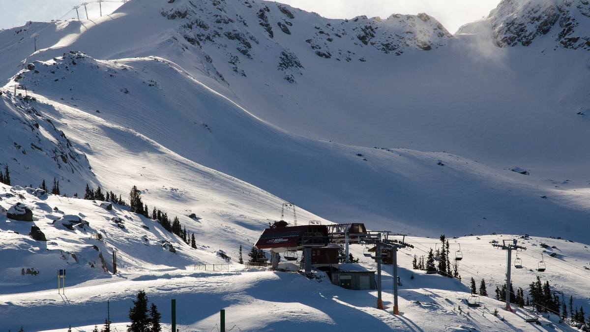 Whistler Mountain will open six days early on Nov. 18. Blackcomb Mountain will open on Nov. 24, Whistler Blackcomb's official opening day.