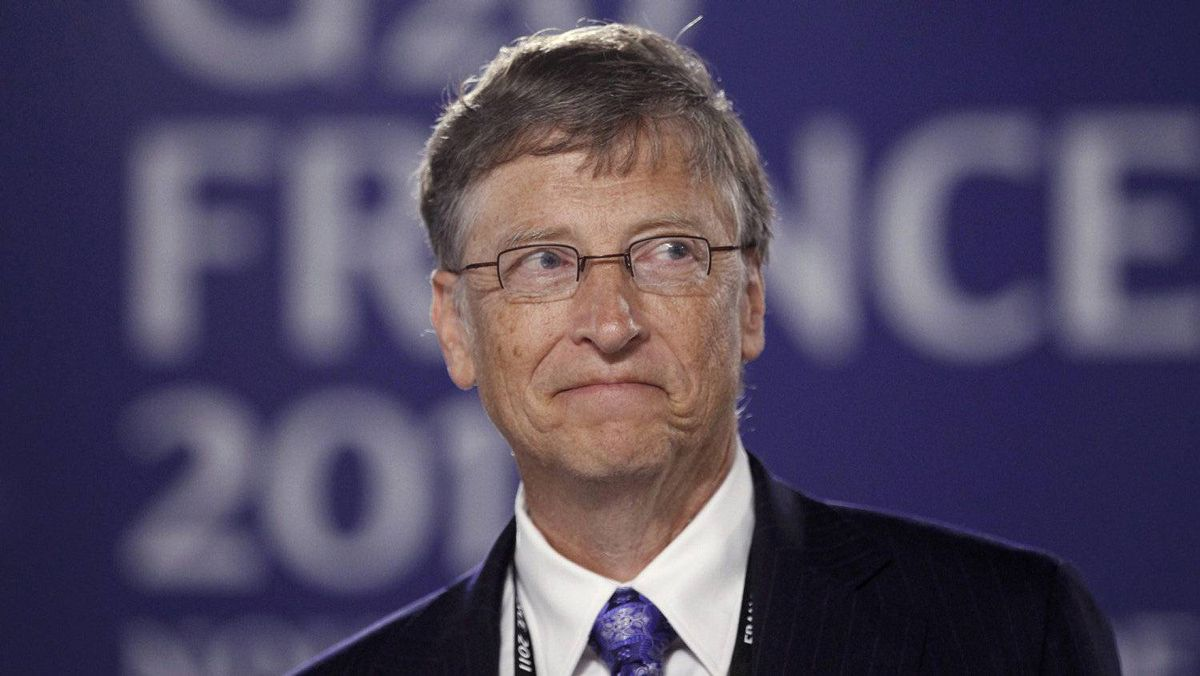 Microsoft Corp. founder Bill Gates is scheduled to present his plans for world development to the G20 leaders Friday morning in Cannes.