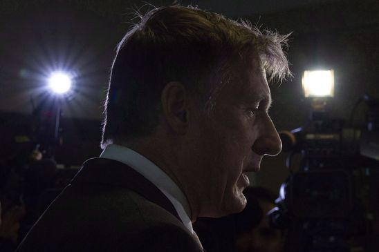Maxime Bernier goes to a dark place