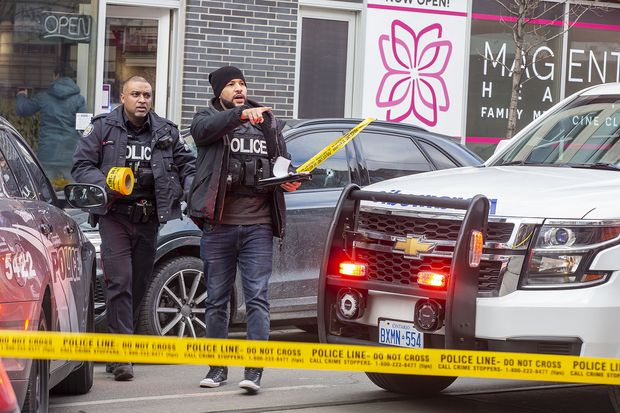 Afternoon shooting in Toronto's Beaches neighbourhood leaves two injured