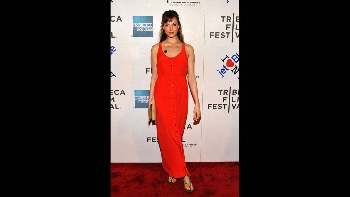 """Model Elettra Wiedemann attends the premiere of """"Last Night"""" during the 2011 Tribeca Film Festival at BMCC Tribeca PAC on April 25, 2011 in New York City."""