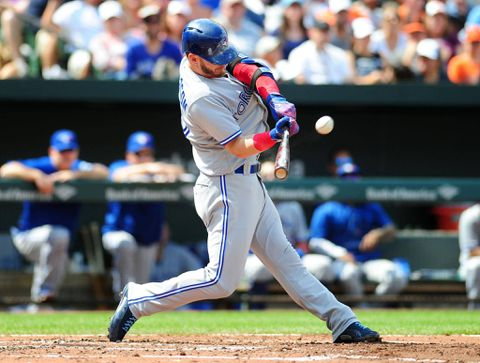 Blue Jays' Kendrys Morales hits 3 home runs in 1 game