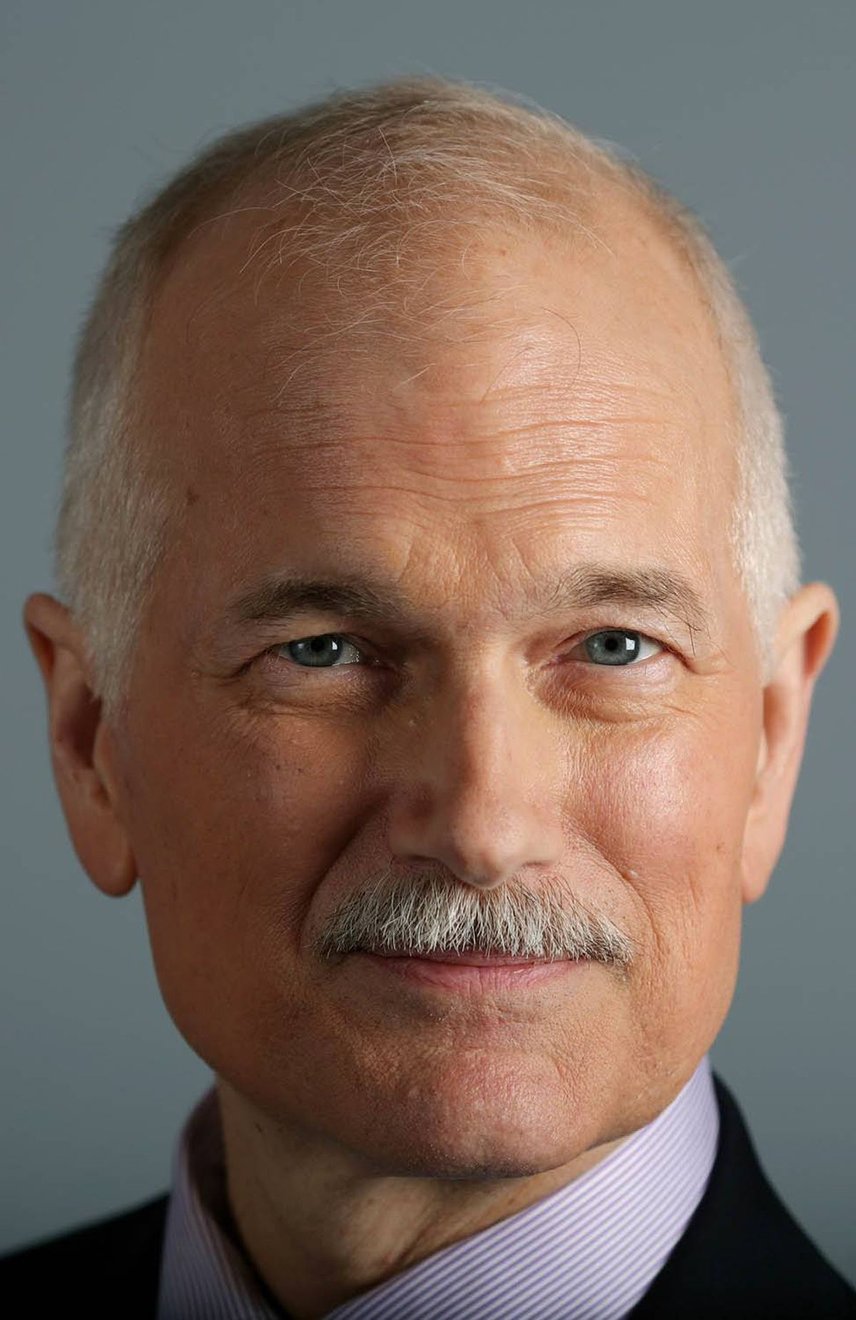 Jack Layton poses for a portrait during an interview in his office on Parliament Hill in Ottawa.