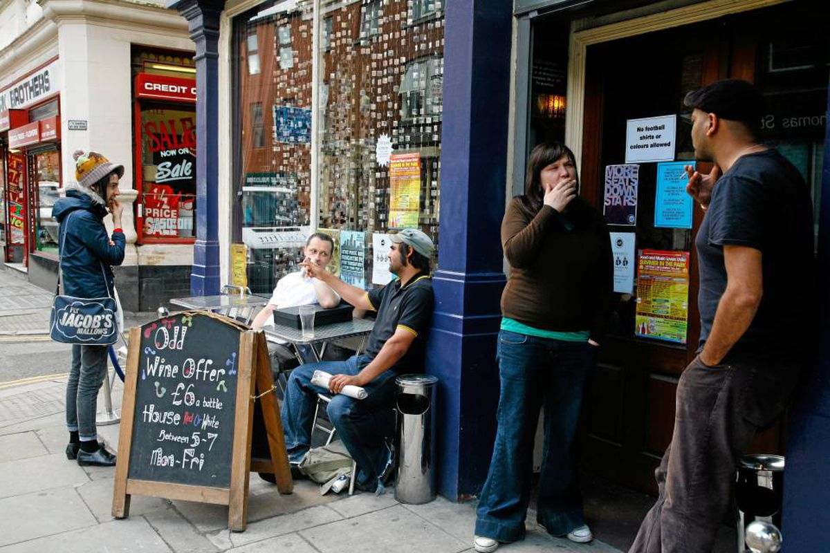 Hang out with the local crowd at Odd Bar on Thomas Street.