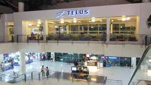A Telus call centre in a Manila mall. Telus and its rivals Rogers and Bell are relying on the booming wireless market to drive growth, offsetting the slowing or declining performance of older land-line services, including home phone connections and regular TV service.