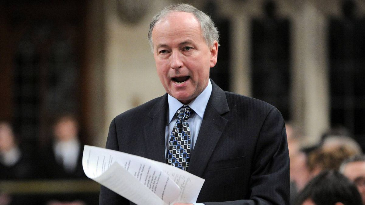 Minister of Justice Rob Nicholson responds to a question during Question Period in the House of Commons on Parliament Hill in Ottawa on Monday, March 12, 2012.