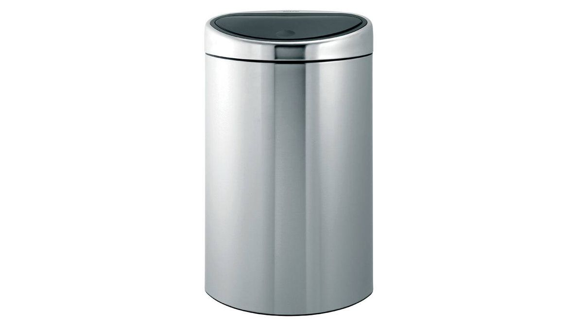 2. Perfect for busy family kitchens, Brabantia?s stylish Touch Bin features a one-touch lid that opens when light pressure is applied and a fingerprint-proof matte steel body. $326.03 through www.vitalwares.com.