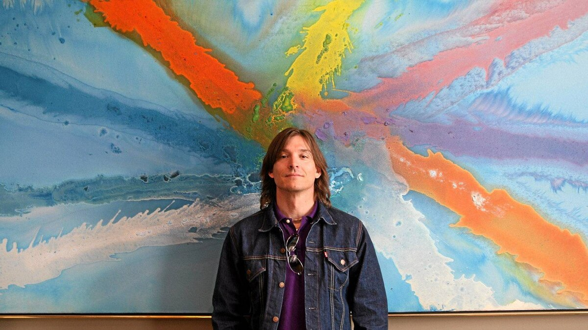 Alex Bogusky in the Toronto offices of his former employer, MDC Partners Inc.