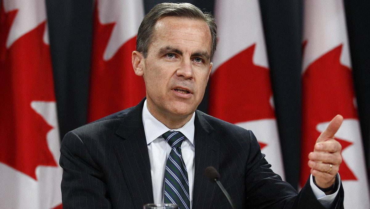 Bank of Canada Governor Mark Carney speaks, in Ottawa on January 18, 2012.