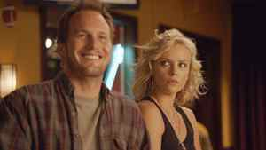 """Patrick Wilson and Charlize Theron in a scene from """"Young Adult."""""""