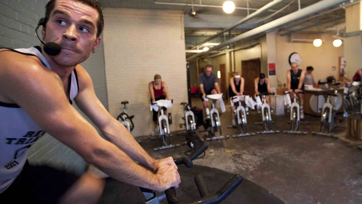 A three-hour spin class at Quad
