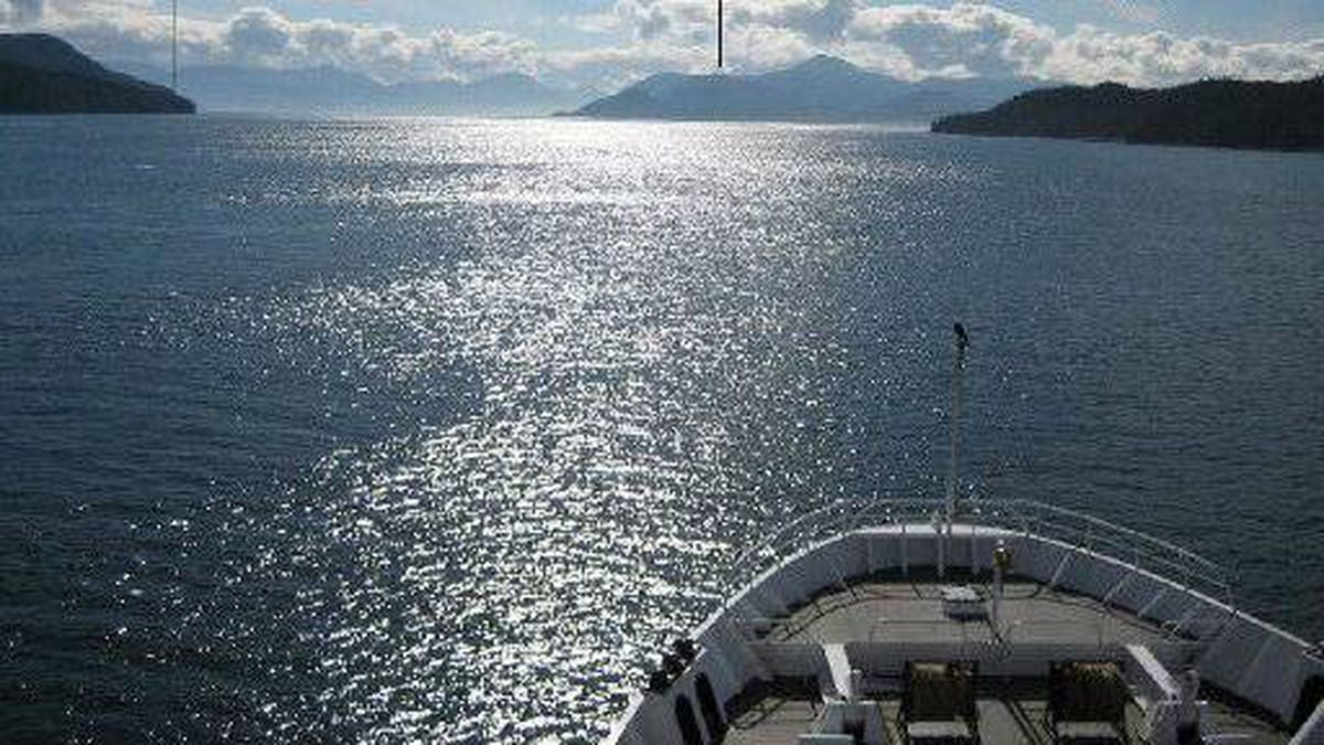 Grenville Channel off the B.C. Coast
