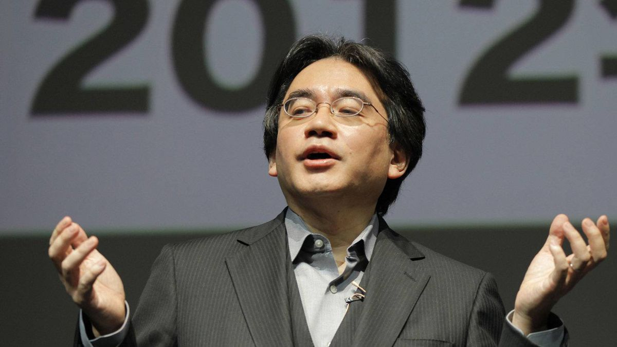 Nintendo President Satoru Iwata speaks during a news conference at a convention center in Tokyo, Japan, Tuesday, Sept. 13, 2011.