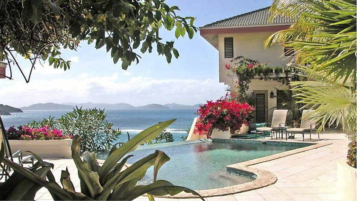 A Dream Come True Villa Savannah Bay, Virgin Gorda in the British Virgin Islands.