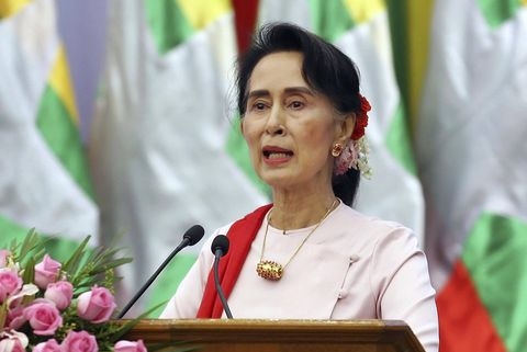 Myanmar leader Suu Kyi won't go to UN General Assembly