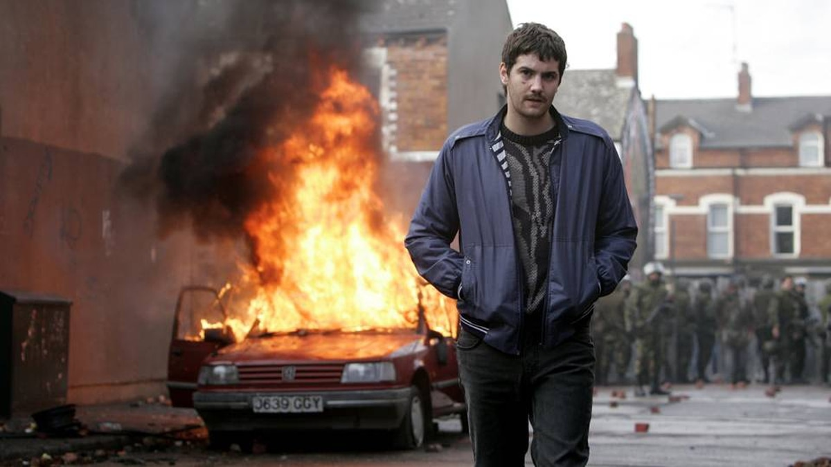 Jim Sturgess plays Martin, a hustler who wants a home for his family in Belfast and maybe a car, and risks everything to get them.