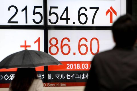 Asia stocks gain after strong United States jobs data