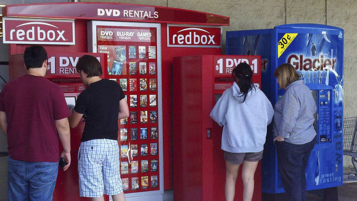 In the U.S., Redbox partners with retailers and fast-food restaurants to place its booths.