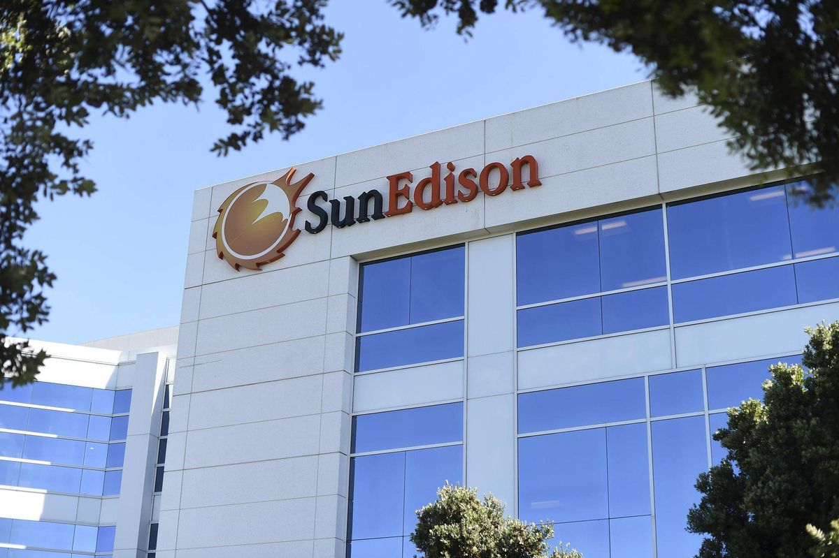 Solar Panel Firm Sunedison Files For Bankruptcy Protection The