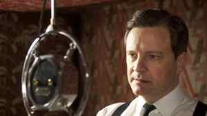 Colin Firth as King George VI in The King's Speech.